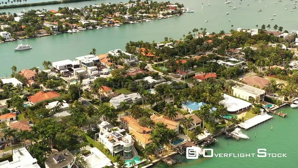 Luxury Miami Beach Houses on the Water With Palm Trees