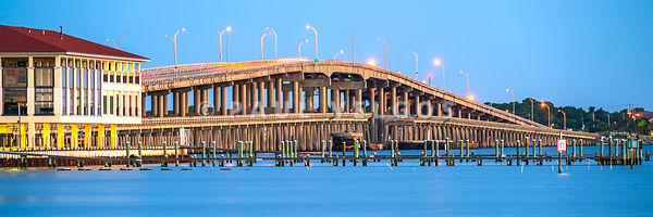 Bob Sikes Bridge Pensacola Beach Florida Panorama Photo