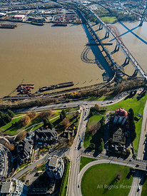 Patullo Bridge and New Westminster