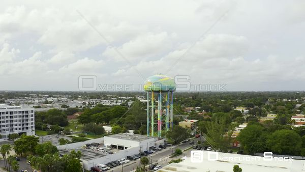 Fort Lauderdale Water Tower 4k Video
