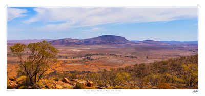 View from Wonoka Hill Flinders Ranges