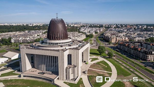 Temple of Divine Providence Church Warsaw Poland