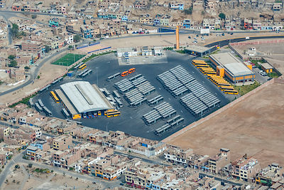 Warehouse Industrial Zone of Capital City Lima Peru