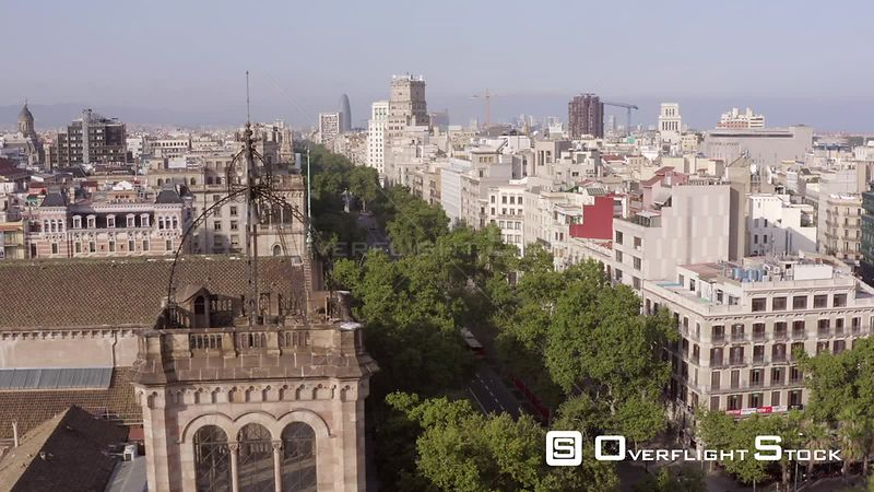 Drone Video Barcelona Spain