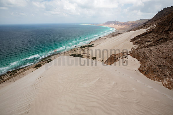 View from the Top of a Sand Dune at Arhur