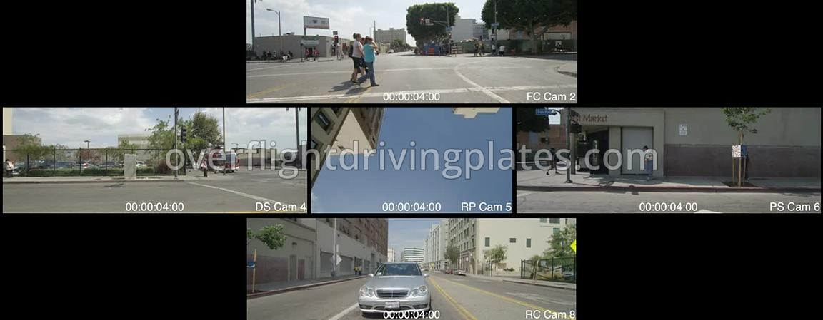 Skid Row  Los Angeles California USA - Driving Plate Preview 2012