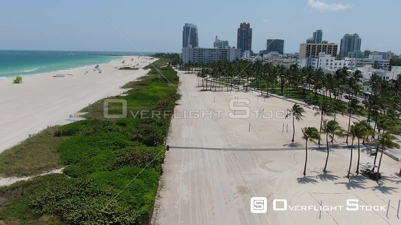 South Beach Miami Florida During Covid-19 Pandemic