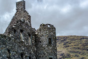 Kilchurn Castle Tower Wall and Turret.