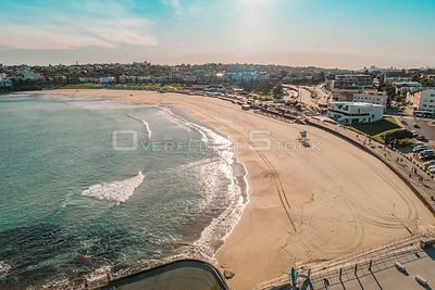 Drone Photo Of Bondi Beach (COVID-19)