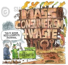 Mass Consumerism & Waste Machine