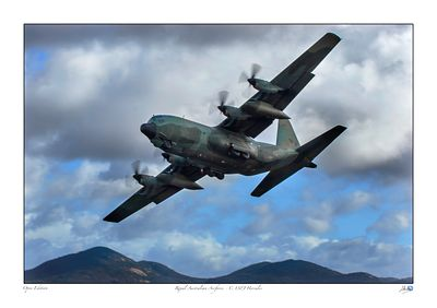 Hercules C-130H in flight