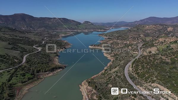 Rio Guadalete Lake Spain