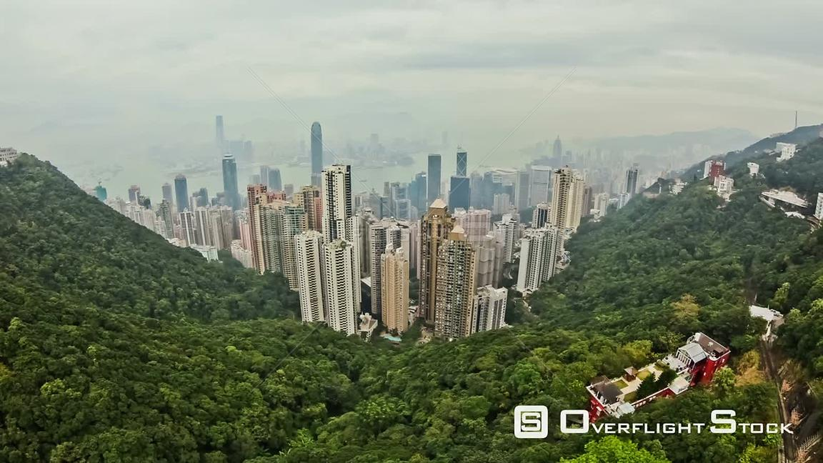 Hong Kong cityscape time lapse during the day