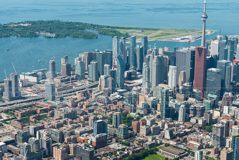 East side of downtown Toronto