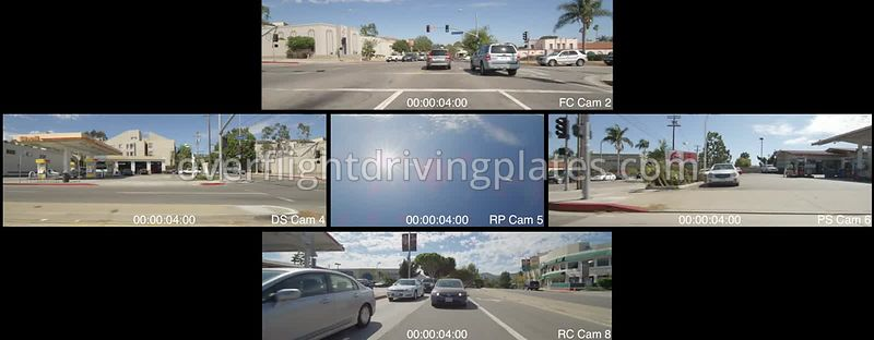 Pacific Palisades Commercial   California USA - Driving Plate Preview 2012