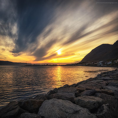 Sunset_in_Patreksfjordur