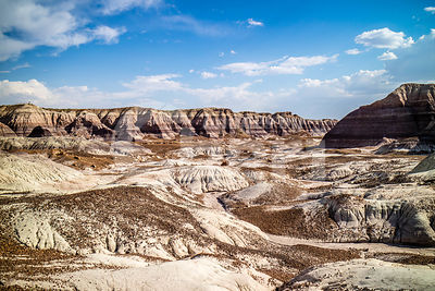 The Blue Mesa Trail in Petrified Forest National Park, Arizona