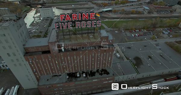 Farine Five Roses Flour Mill Montreal Quebec Canada