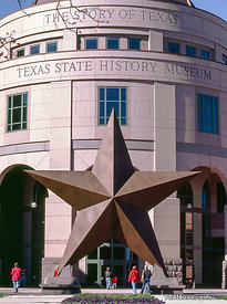 Opened in 2001, the museum tells the great story of Texas.
