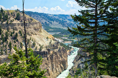 Yellowstone River Canyon #1