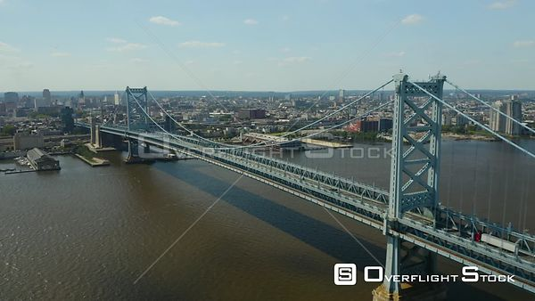 Ben Franklin Bridge Philadelphia, Pennsylvania, and Camden, New Jersey