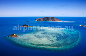 Hayman Island and Langford Reef, Whitsundays, Queensland.