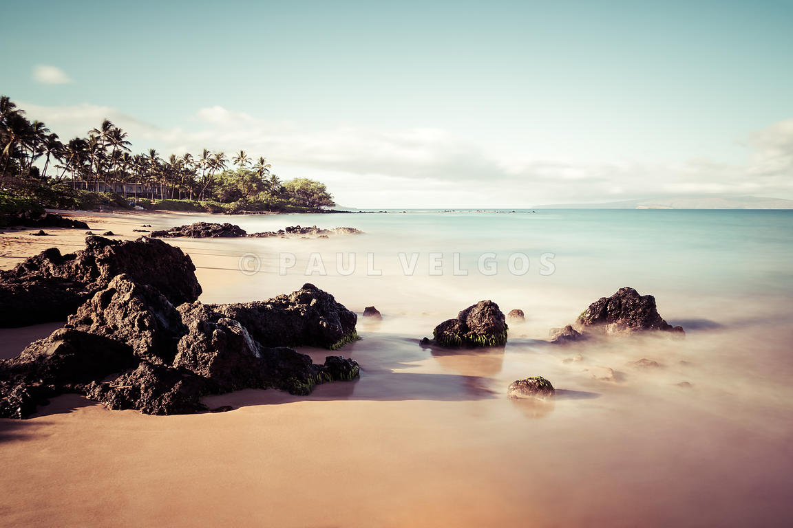 Mokapu Beach Maui Hawaii Wailea Makena Photo