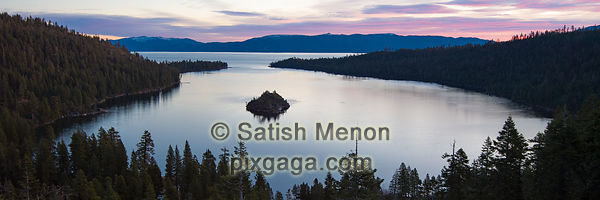 Emerald Bay, South Lake Tahoe, California, USA