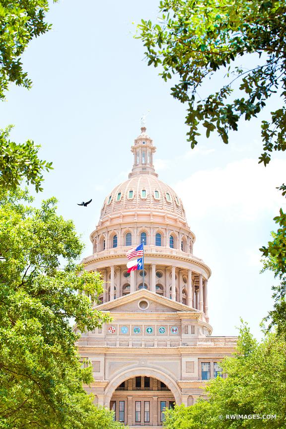 TEXAS STATE CAPITOL AUSTIN TEXAS COLOR VERTICAL