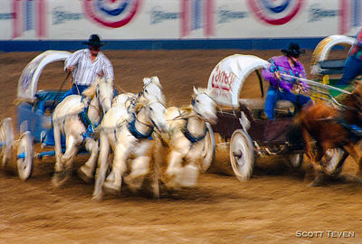 Chuck Wagon Race