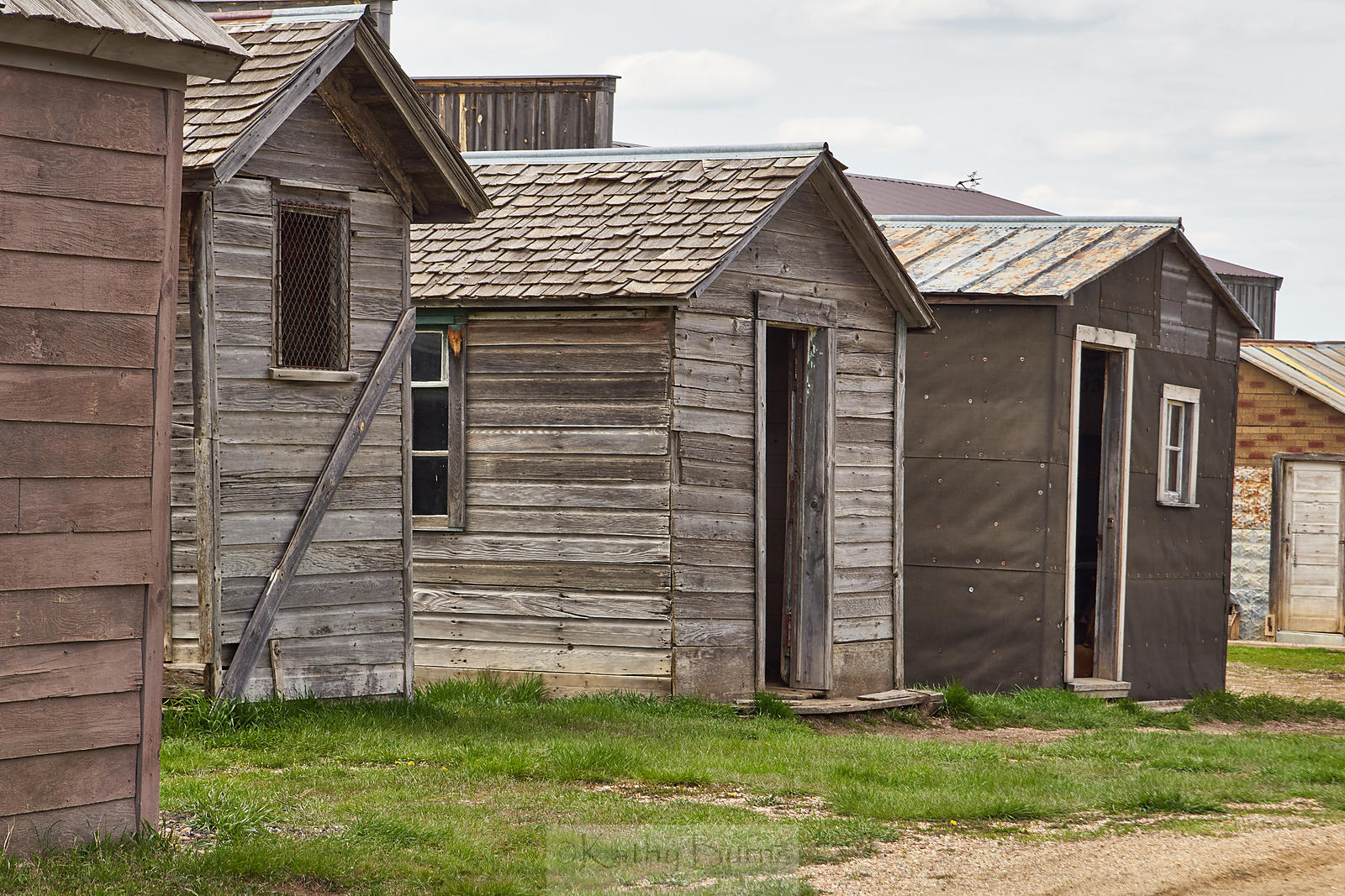 1880s Town in South Dakota