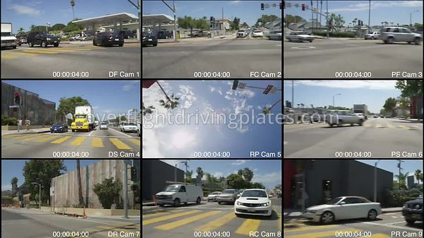 Residential  Santa Monica California USA - Driving Plate Preview 2012