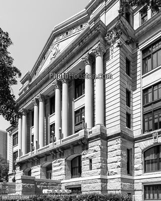Harris County Courthouse in Houston, Texas