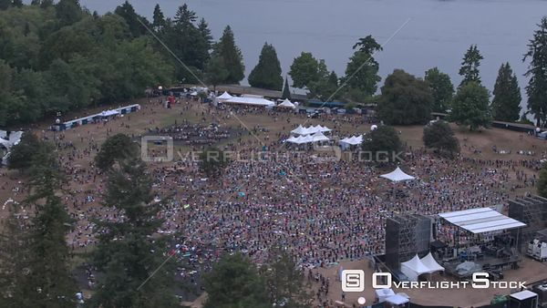 Concert in Stanley Park, Lululemon Seawheeze, Vancouver, BC Canada