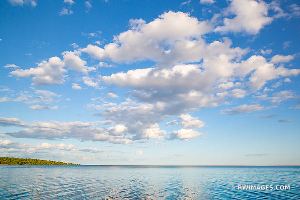 LAKE MICHIGAN WASHINGTON ISLAND DOOR COUNTY WISCONSIN
