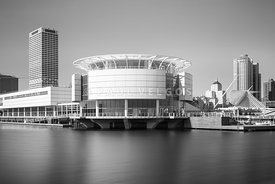 Milwaukee Discovery World Picture in Black and White