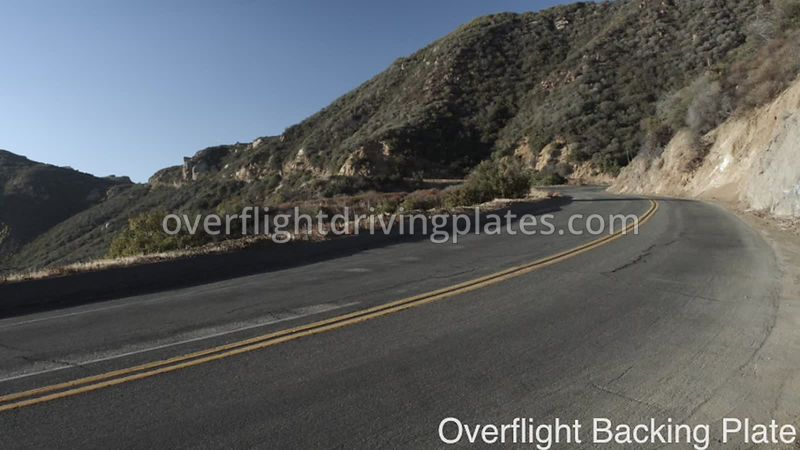 Winding Mountain Highway Sycamore Canyon Road  California USA - BackingPlate Feb 15, 2018