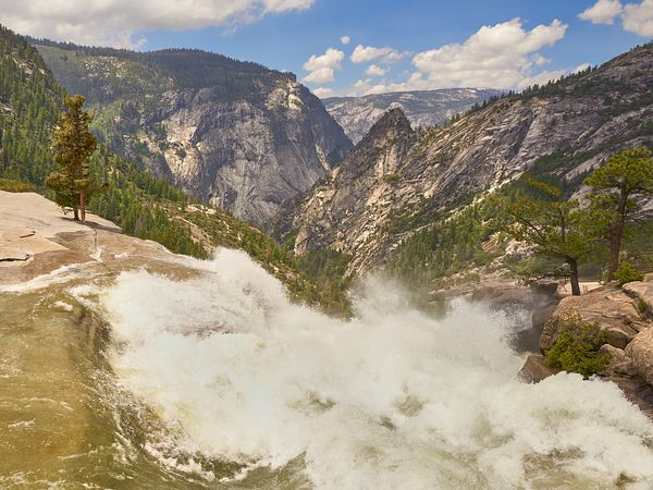 Nevada Fall from the Brink