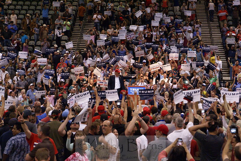 Donald Trump Presidential Campaign Rally, Tucson AZ USA, 2016