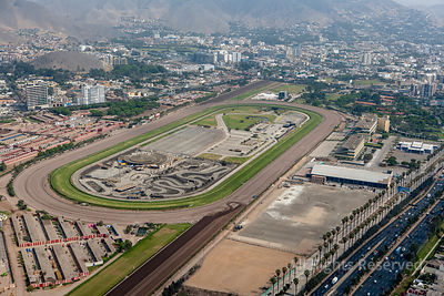 Hipodromo de Monterrico Horse Racing Capital City Lima Peru