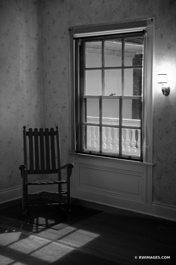 PLUM ORCHARD MANSION INTERIOR CUMBERLAND ISLAND GEORGIA BLACK AND WHITE VERTICAL