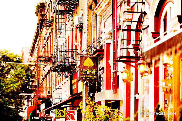 GREENWICH VILLAGE MANHATTAN NEW YORK COLOR