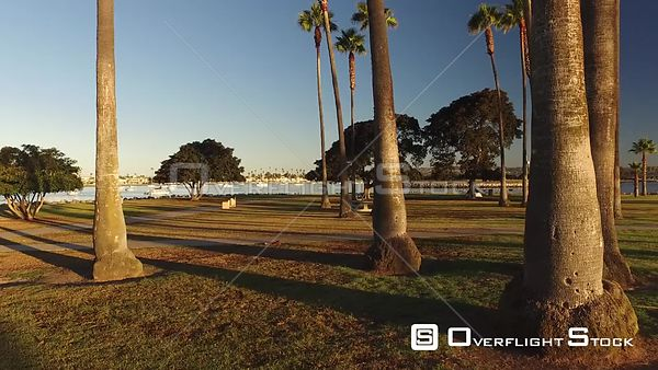 Drone Video San Diego, CA Mission Point Park During Covid-19 Pandemic