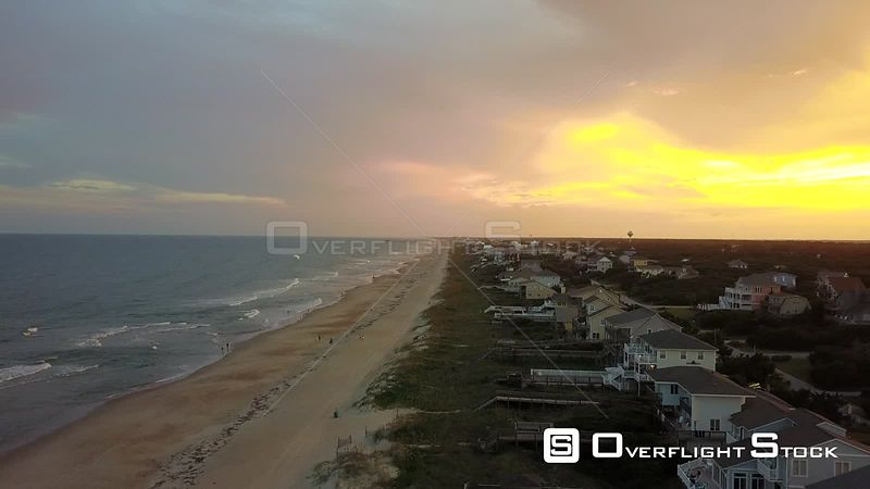 Evening Dusk Beach Outer Banks North Carolina