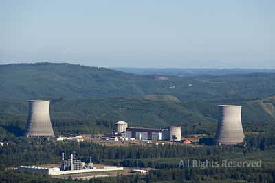 Satsop Nuclear Power Plant Washington USA