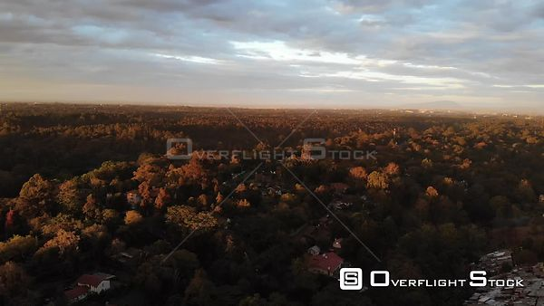 Aerial Landscapes and Cityscapes of Westlands in Nairobi, Kenya.