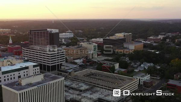 Aerial video Downtown Tallahassee FL