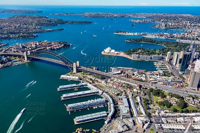 Walsh Bay and Sydney Harbour