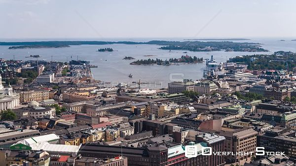 Drone Video of Helsinki Finland