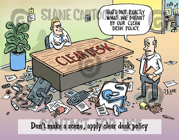 Cleared Desk Policy
